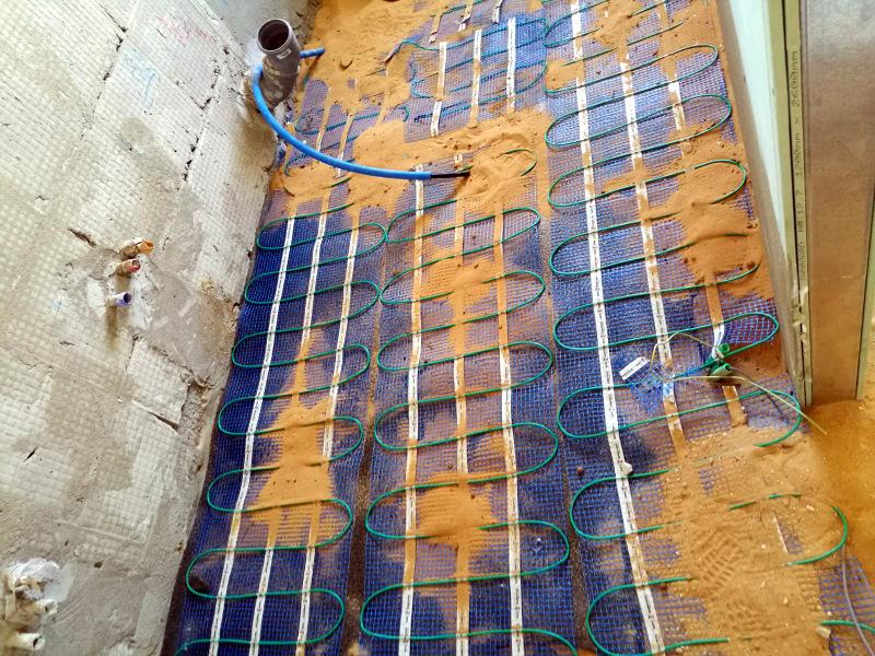 חימום תת ריצפתי חשמלי בירושלים