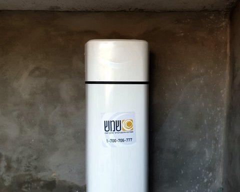התקנת משאבת חום לחימום מים
