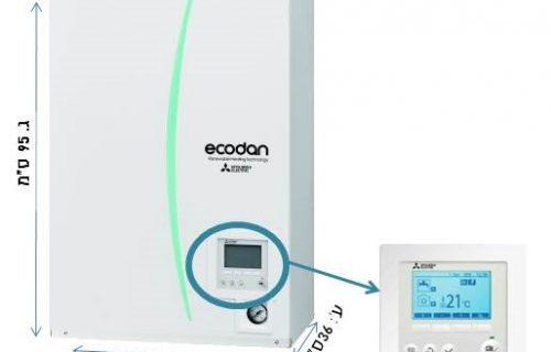 מחמם מים משאבת חום מצובישי EcodanHigh Power 27