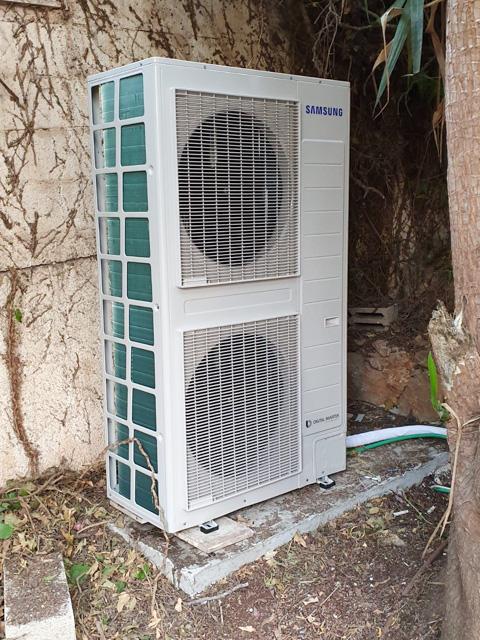 התקנת משאבות חום לבית